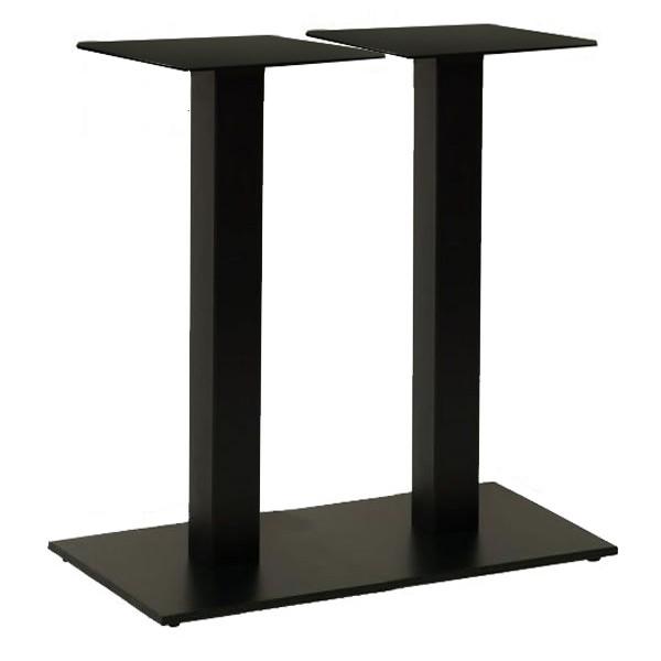 опора для стола металлическая двойная