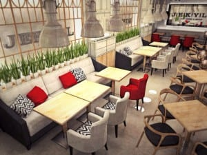 Мягкая мебель для ресторана, кафе, бара