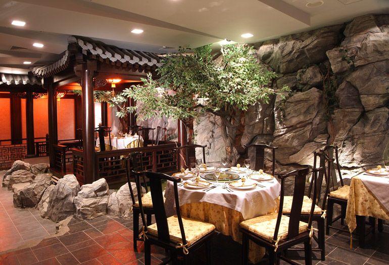 Китайский стиль в дизайне кафе