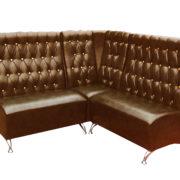 Угловой диван для ресторана