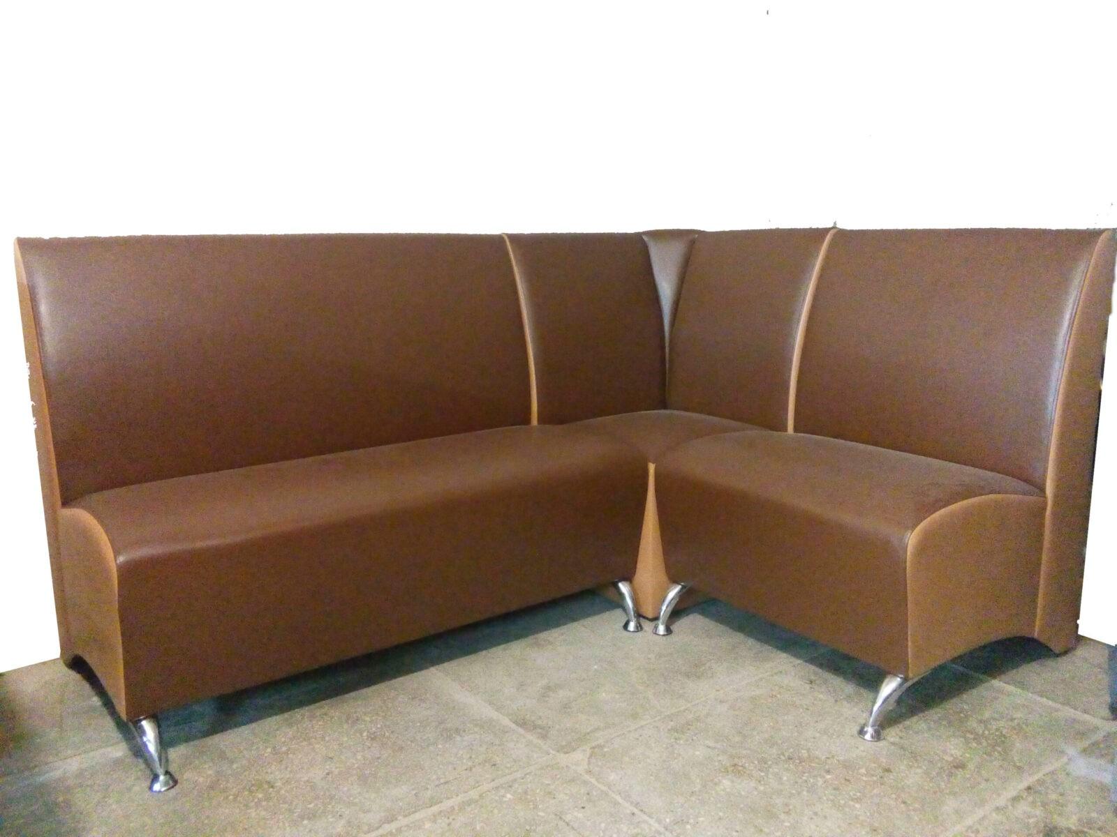 Угловой диван для бара