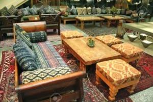 traditional arabic lobby interior photo
