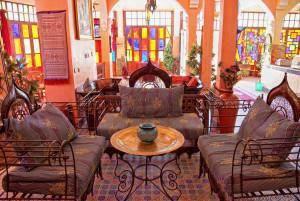 Восточный стиль в интерьере кафе. Арабский
