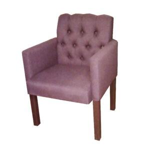 Кресло для ресторана Лаунж с пуговицами