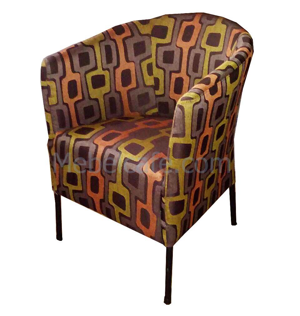 Кресло для кафе металлическое