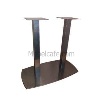 Опора для стола овал двойная
