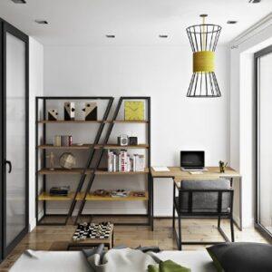 Дизайнерский стеллаж в стиле loft