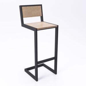 Высокий стул для бара в стиле лофт