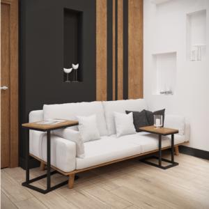 Кофейный столик в стиле минимализм