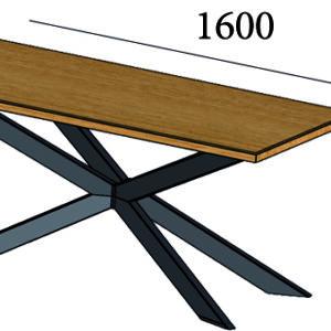 Стол дизайнерский в стиле лофт