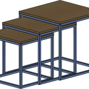 Журнальный стол трасформер