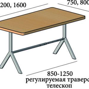 Стол в стиле минимализм