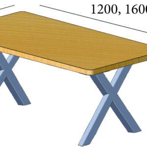 столы в стиле лофт для кафе