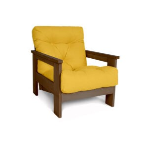 Деревянное кресло для дома