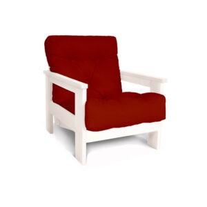 Деревянное кресло для сада