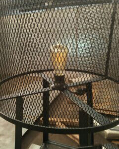 Светильник настольный в стиле лофт