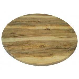 Столешница Верзолит круглая орех