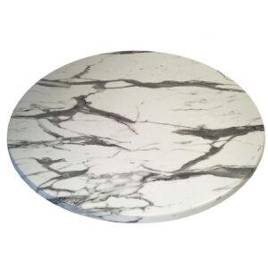 Столешница Werzolit круглая мрамор